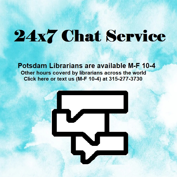 Library Chat Banner