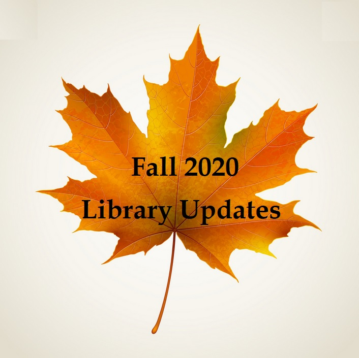 Fall Updates banner