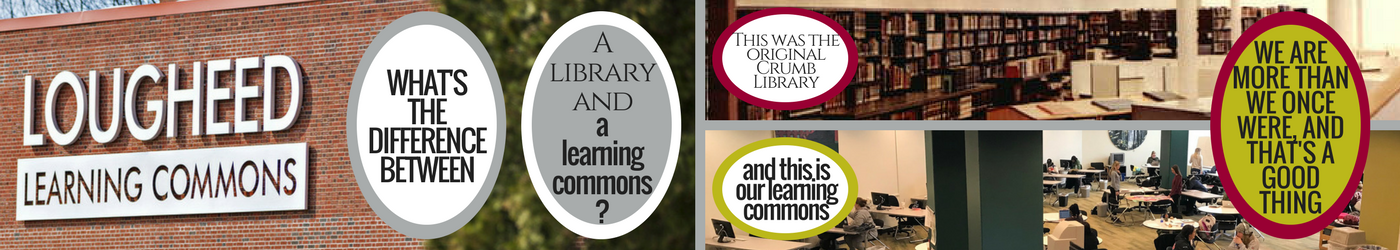 Banner for the Lougheed Learning Commons
