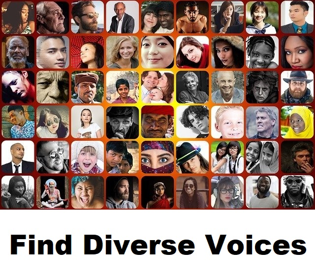 research guide for finding diverse voices