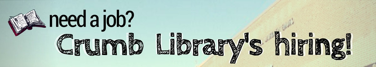 library employment banner