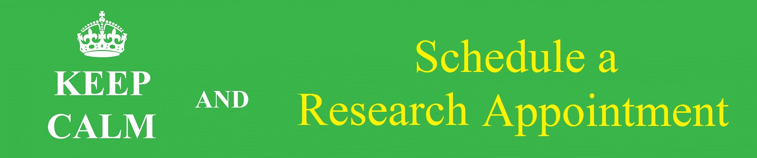 banner to promote scheduling a research appointment