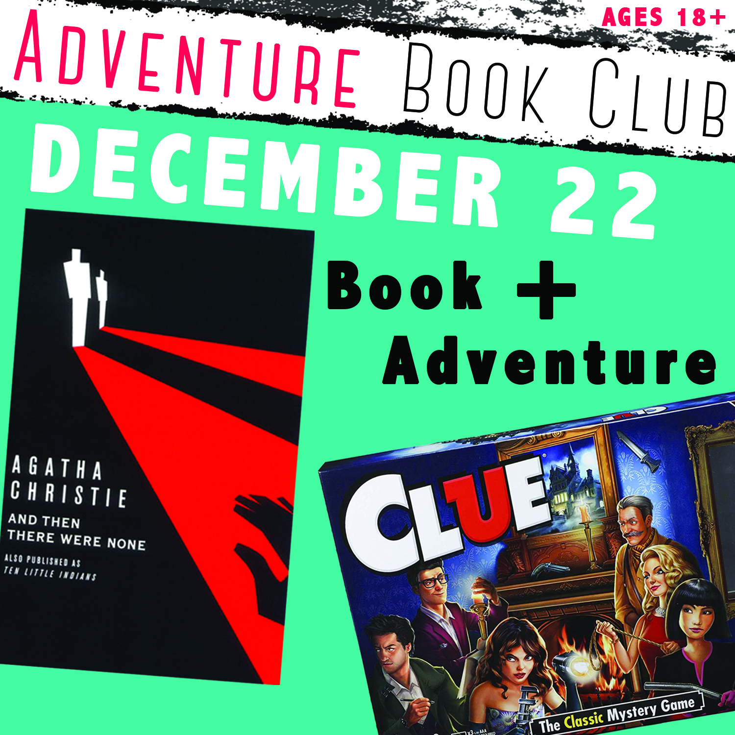 Adventure Book Club: And Then There Were None