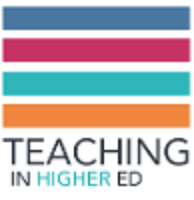 Teaching in Higher Ed logo