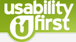 Usability first logo
