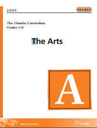 ontario arts curriculum