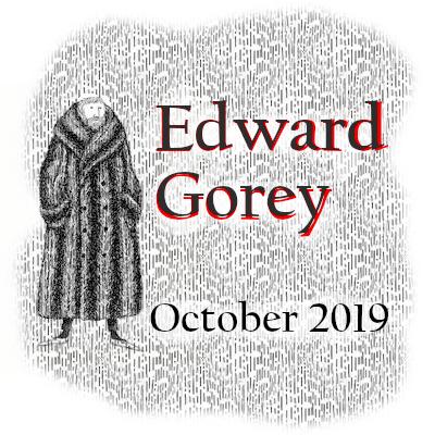 Edward Gorey logo