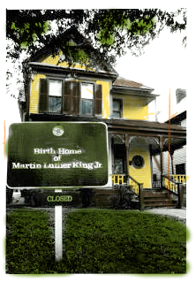 Martin Luther King Jr. birth place