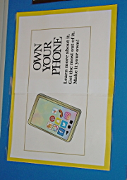 Own Your Phone -- Physical Display Logo