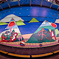 Decatur Train Station Mural courtesy of MARTA's web site