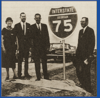 Cutting the Ribbon for I-75