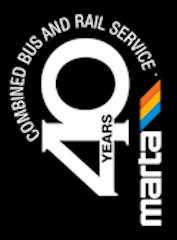 MARTA Anniversary Logo