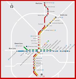 MARTA rail transit map what else
