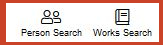 Works and Person Search are near the top of most pages in Gale Literature Resource Center