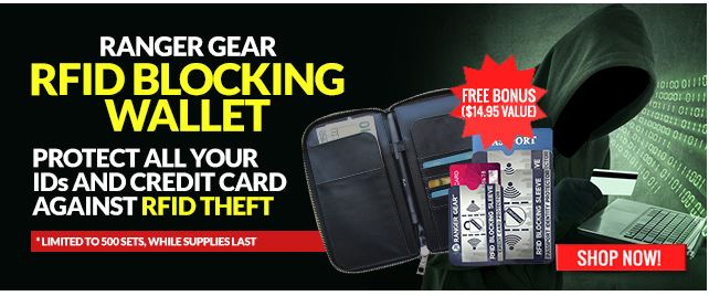 Want to buy an RFID blocking wallet?