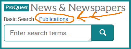 ProQuest listed periodicals need an extra click.