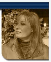 Sepia photograph of Janet Hull