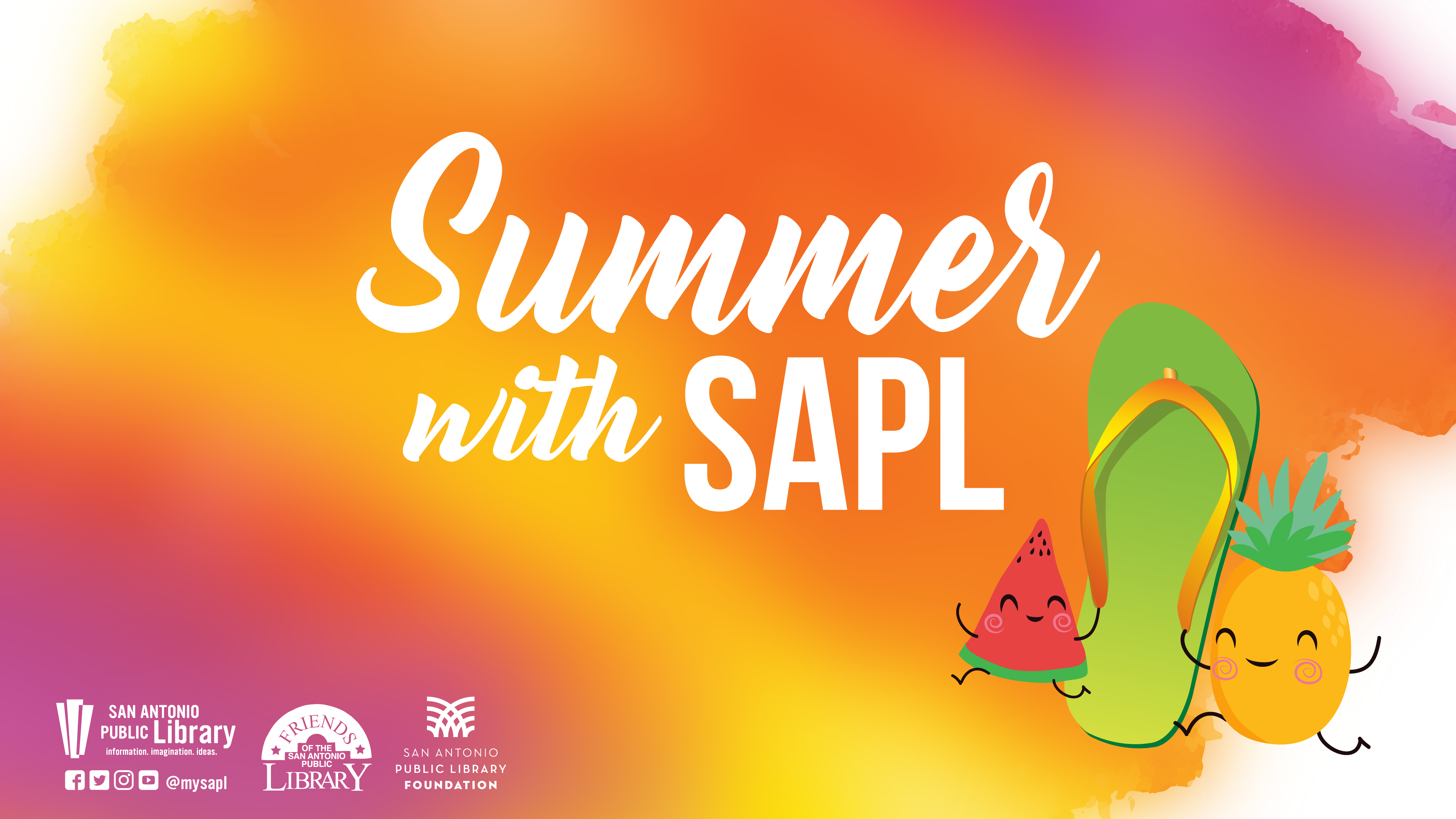 Summer with SAPL banner