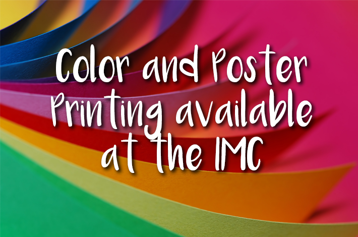 Color Printing and Poster Printing