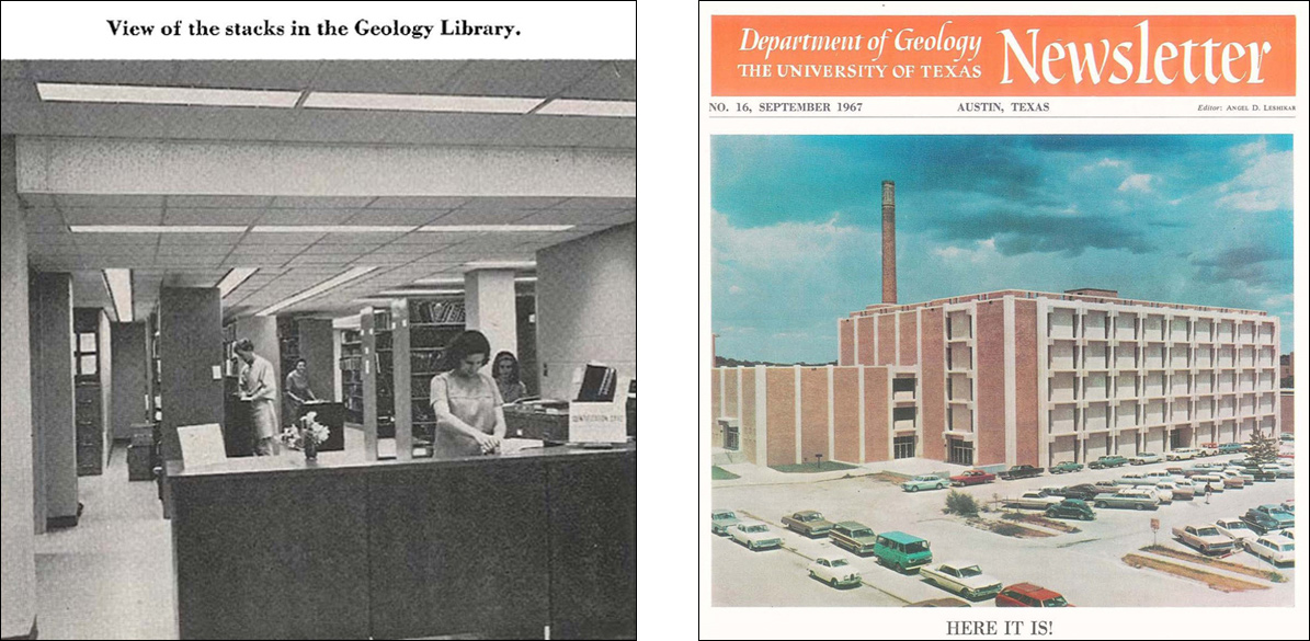 Geology Building 1967