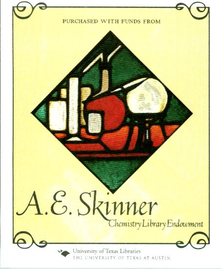 Aubrey Skinner endowment bookplate