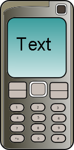 cell phone vector