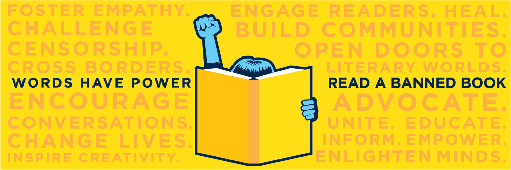 Banned Books Week banner image