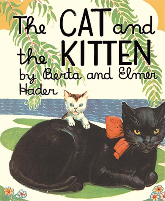 book cover image for The Cat and the Kitten