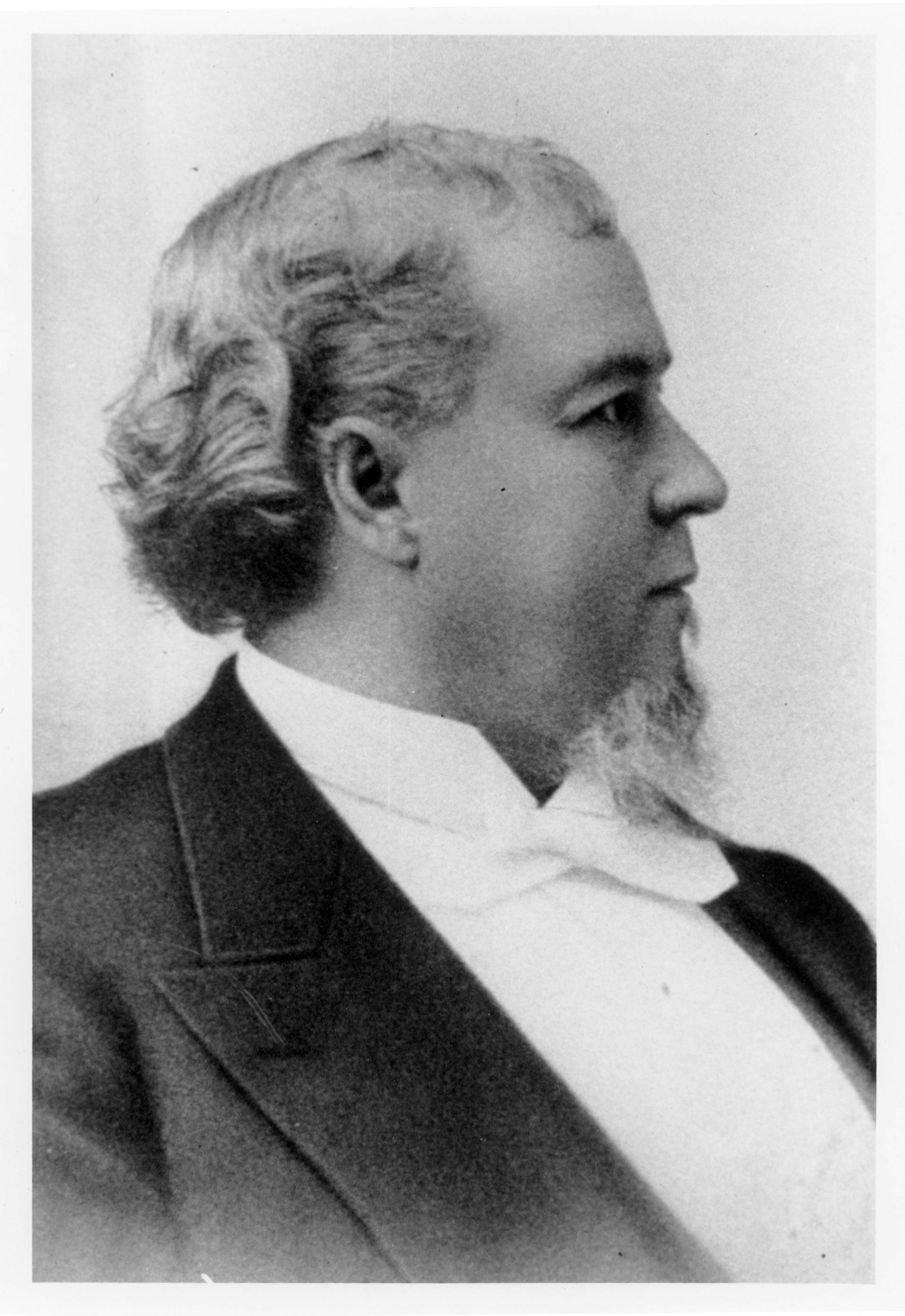 P.O. Hooper, M.D., one of the eight founders of the medical school.