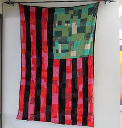 Black Liberation Flag, James Bullock CAS '21, 3rd floor