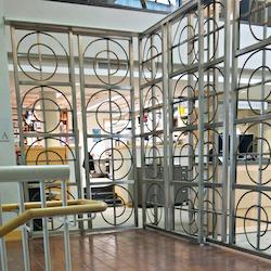 Gate, designed by Ken Klos, 2nd floor