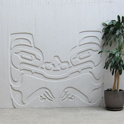 Wall carving, 2nd floor