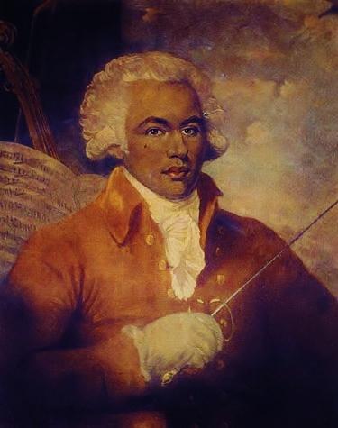 Portrait of Chevalier de Saint-George