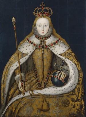 Queen Elizabeth I, unknown English artist, ca. 1600