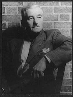 William Faulkner, photographed by Carl Van Vechten