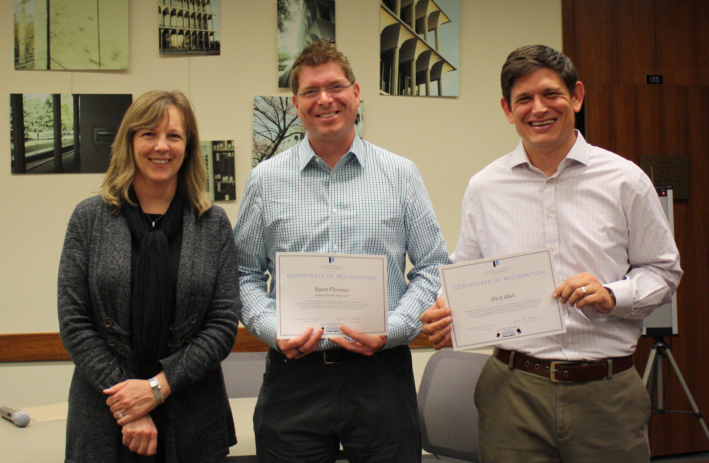 Celebration Certificate Recipients - COE faculty