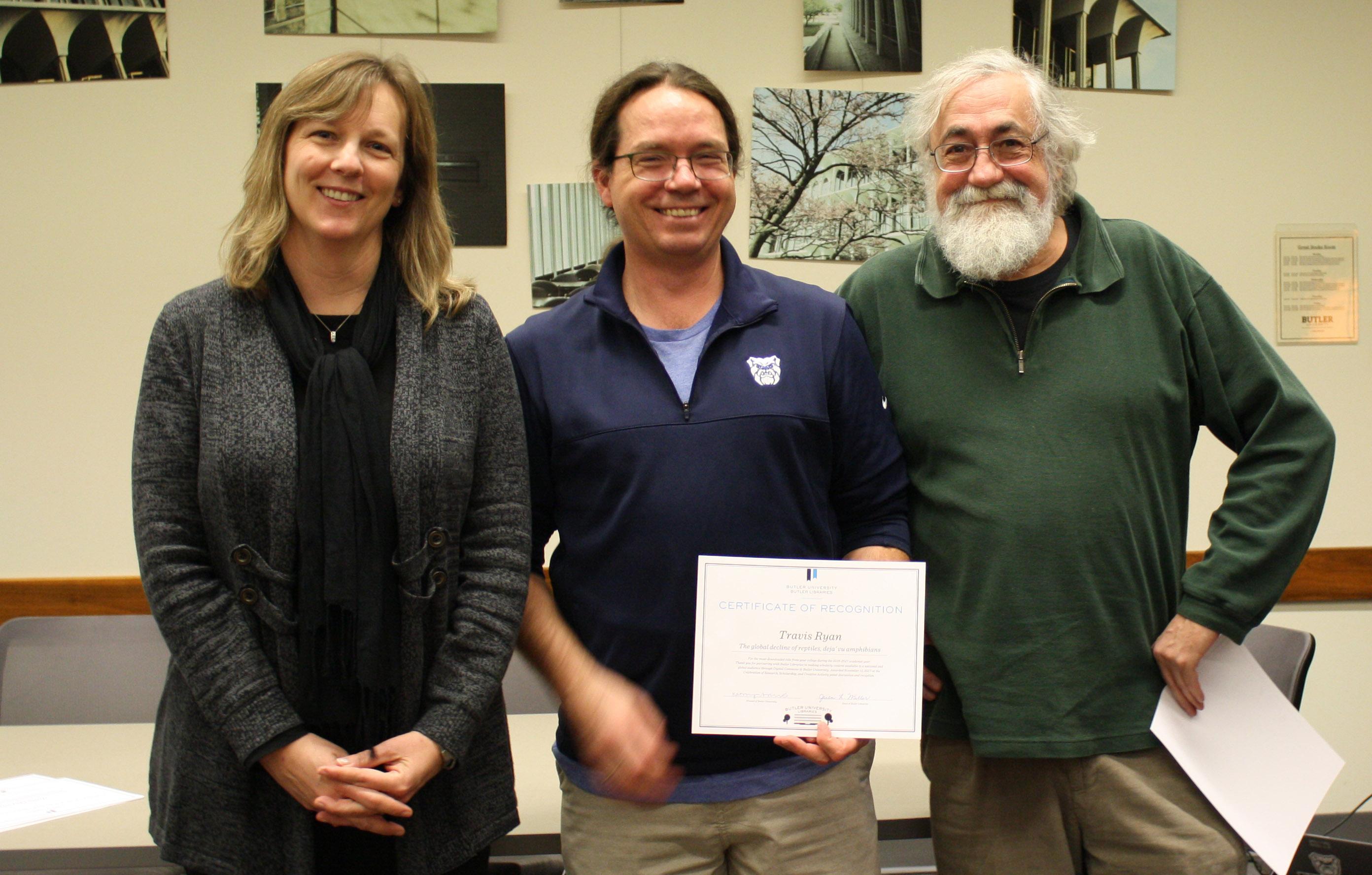 Celebration Certificate Recipients - LAS faculty
