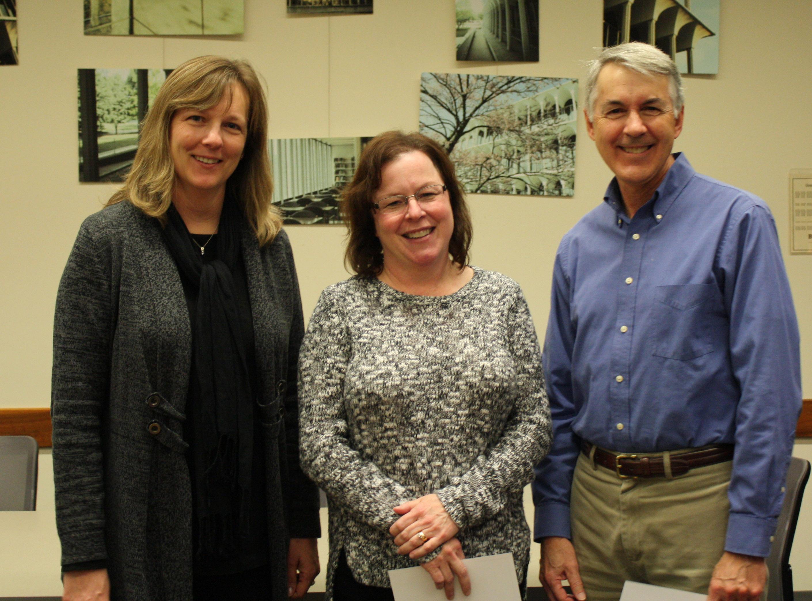 Celebration Certificate Recipients - LSB faculty