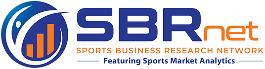 SBRnet Sports Business Research Network logo featuring: the Sports Market Analytics  database