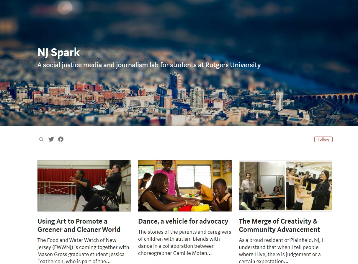 NJ Spark from Rutgers Univ.
