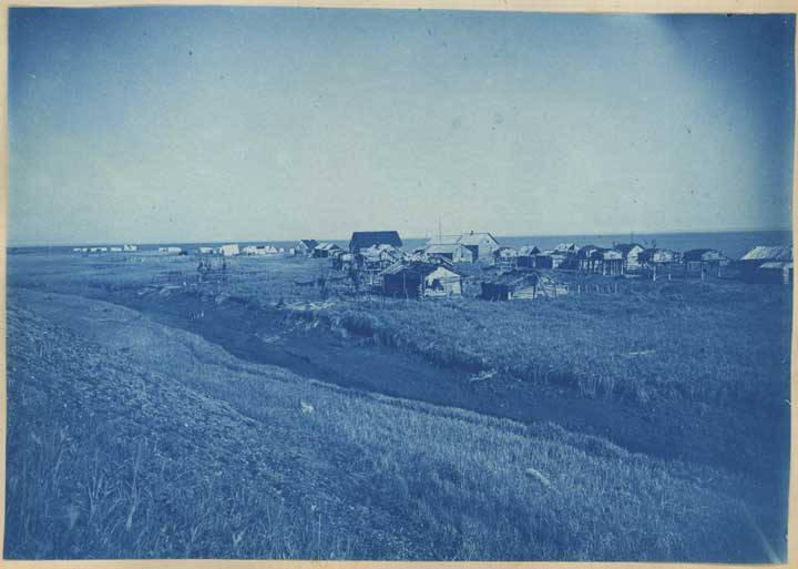 A general view of Tyonek, 1898