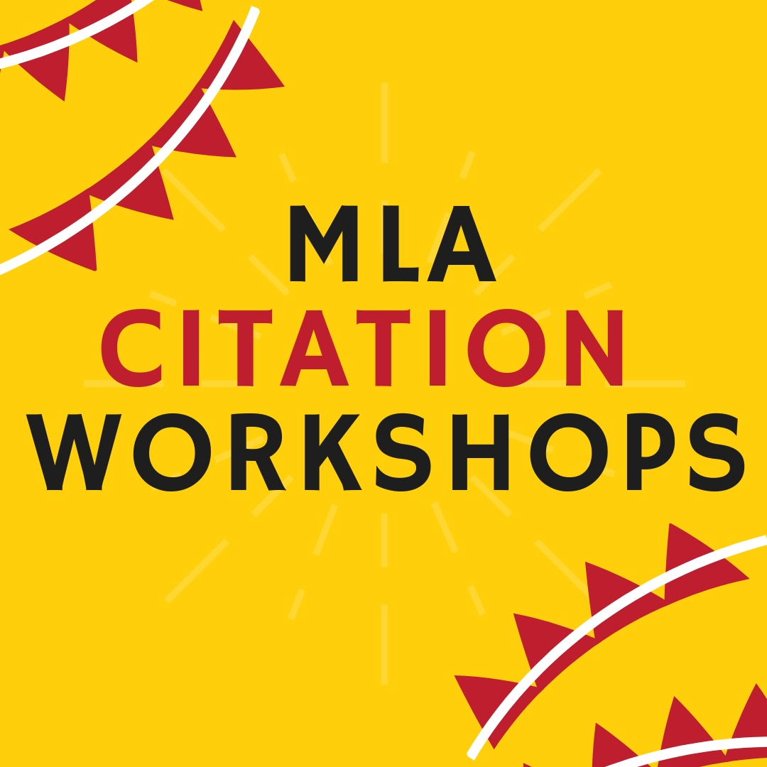 Link to registration for MLA Citation Workshops