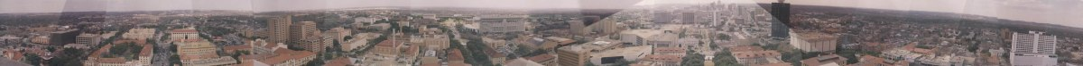 Full panoramic of Austin