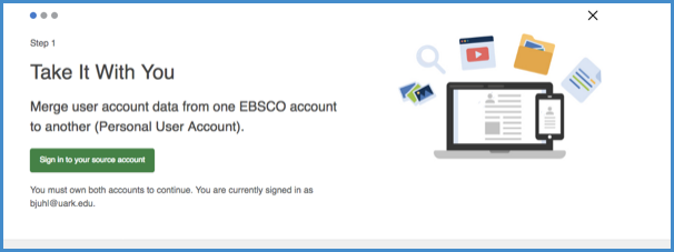 Sign in to your alternate My Ebscohost account