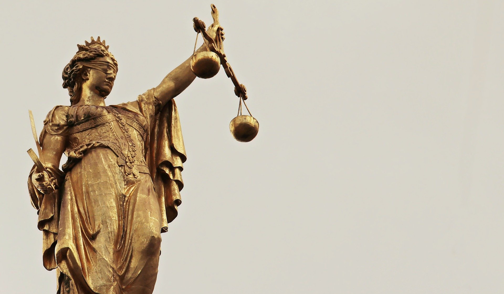 Image of Justitia goddess/Lady Justice