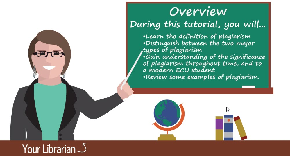 Click to watch Plagiarism: What is it? Tutorial
