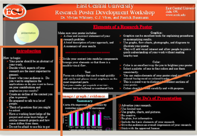 Click to take the Research Poster tutorial
