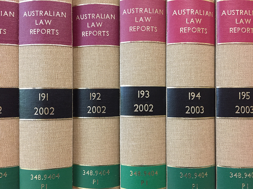 The Australian Law Reports' volume numbers are not dependent on the year