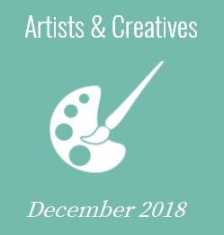 December 2018 - Artists and Creatives