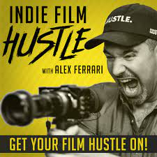 Indie Film Hustle Logo - Man with a Camera
